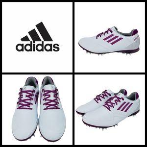 New, Adidas Women's Adizero Tour Golf Shoes, size